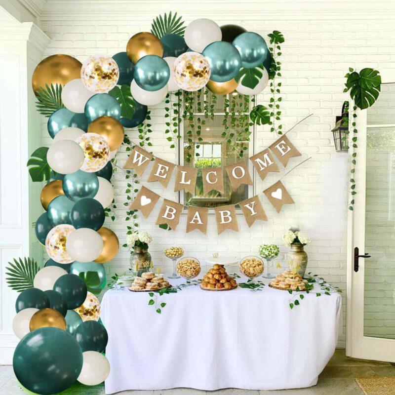Jungle Balloons Arch Garland Set