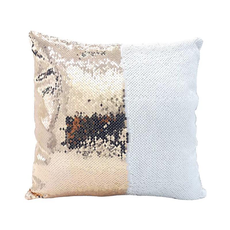 Sequin pillow