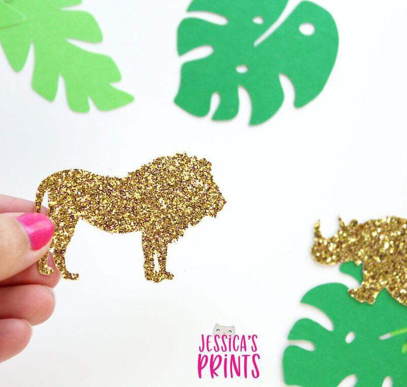 Jungle confetti