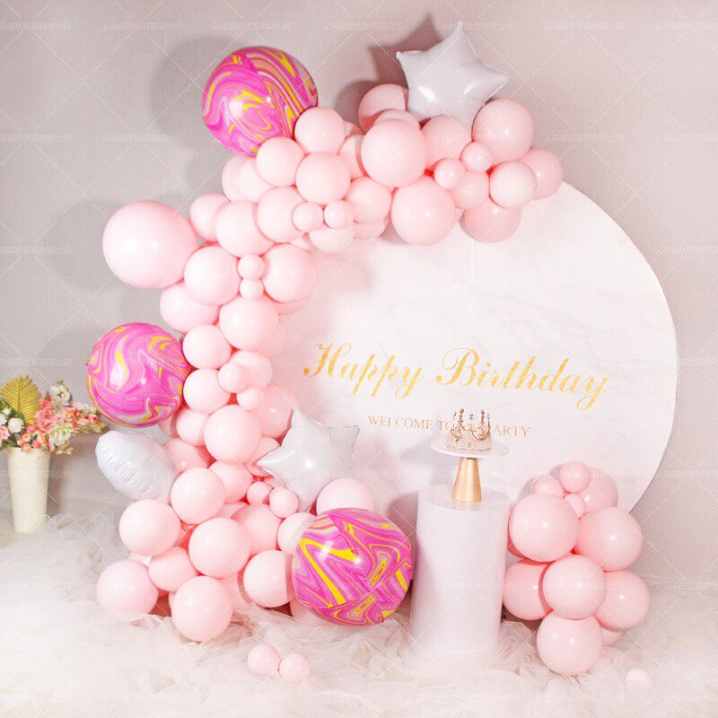 pink themed party
