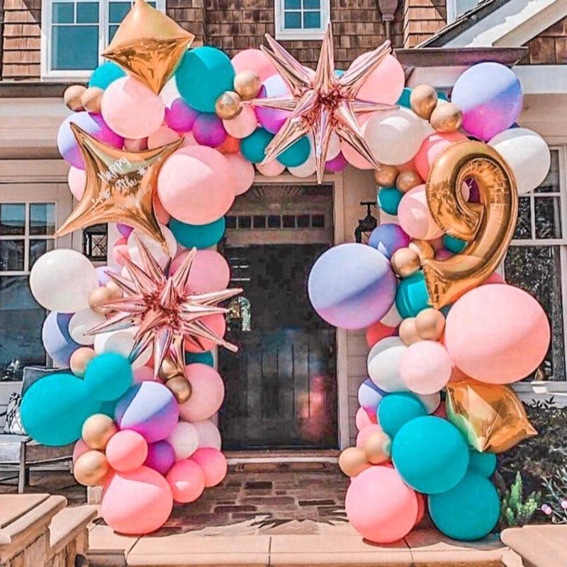 unicorn birthday balloon
