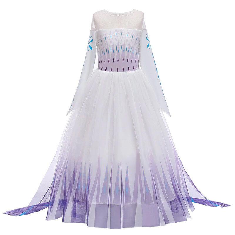Elsa white dress